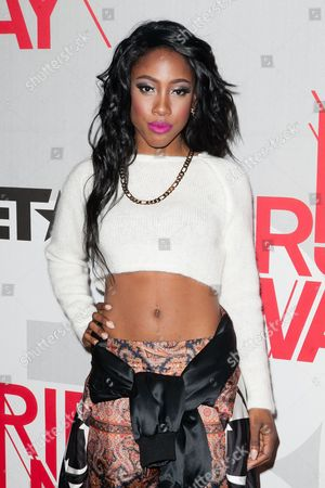 Stock Picture of Amber Sevyn Streeter