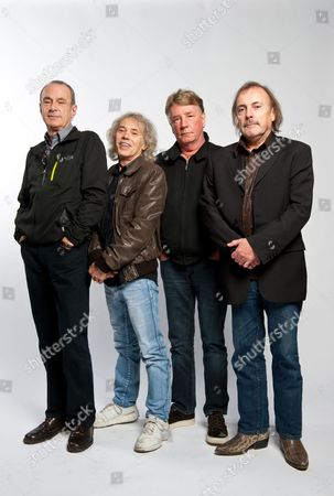 Status Quo - Francis Rossi, Alan Lancaster, Rick Parfitt and John Coghlan