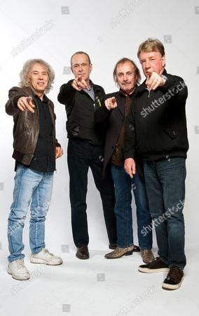 Status Quo - Alan Lancaster, Francis Rossi, John Coghlan and Rick Parfitt