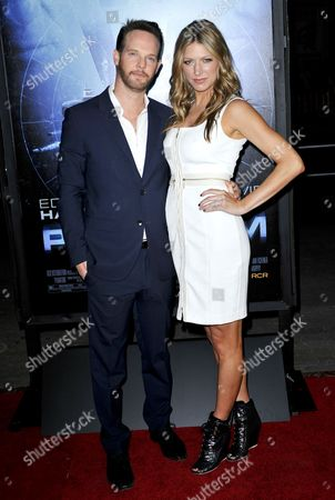 Jason Gray-Stanford and wife Jes Macallan