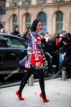 Street style - Tiffany Hsu