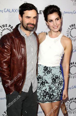 Jesse Bradford and Carly Pope