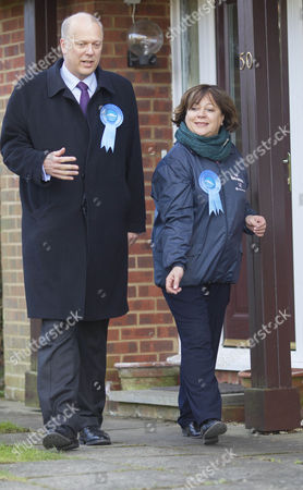 Chris Grayling and Maria Hutchings