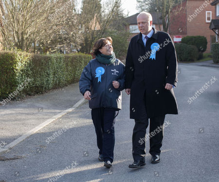 Stock Photo of Maria Hutchings and Chris Grayling