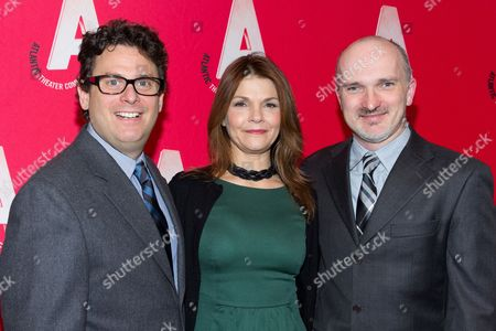 Stock Image of Christian Parker, Kathryn Erbe and Matthew Silver