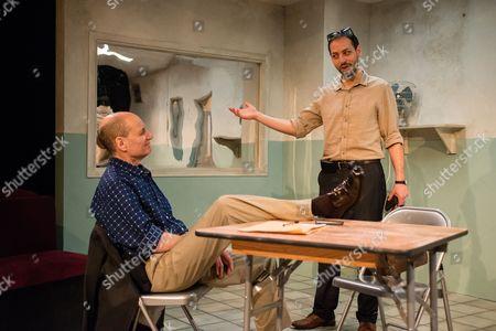'Fact' - Michael Feast (Yossi) and Philip Arditti (Khalid).