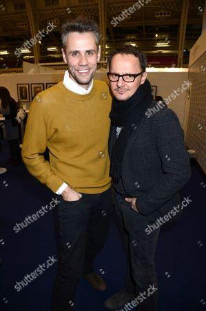 Richard Bacon and Jonny Yeo