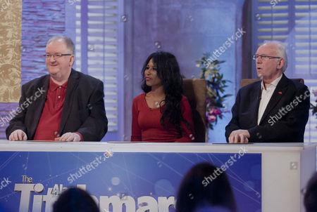 Stock Photo of Danny Kelly, Sinitta and Pete Waterman