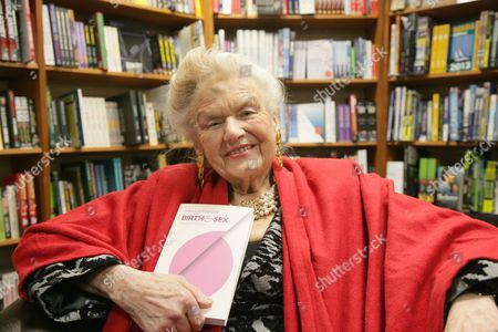 Editorial image of Sheila Kitzinger MBE promoting new book 'Birth and Sex - The Power and The Passion' Oxford, Britain - 28 Feb 2013