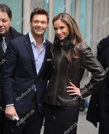 Stock Photo of Ryan Seacrest and Jill Nicolini