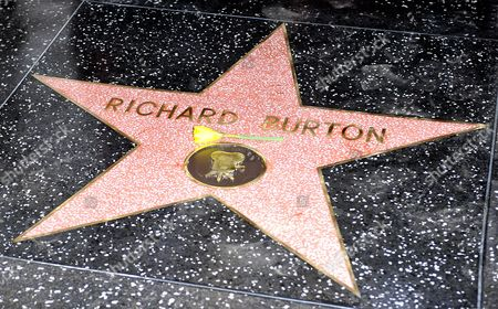 Editorial photo of Richard Burton honored with Star on the Hollywood Walk of Fame, Los Angeles, America - 01 Mar 2013