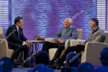 Alan Titchmarsh with Barry Lineker and Gary Lineker