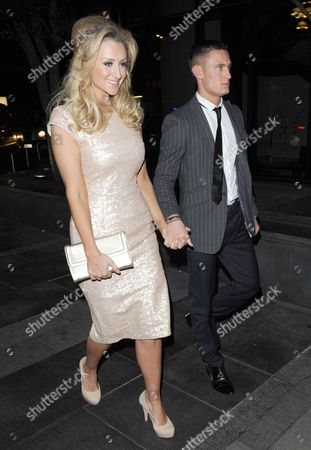 Stock Picture of Catherine Tyldesley and Sam Witter