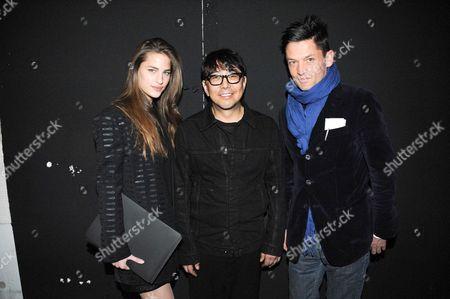 Daniel de la Falaise, Kuho Jung and Solene Hebert