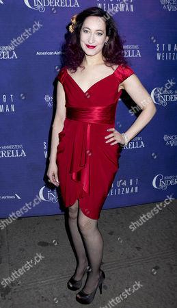 Editorial image of 'Cinderella' play opening night, New York, America - 03 Mar 2013