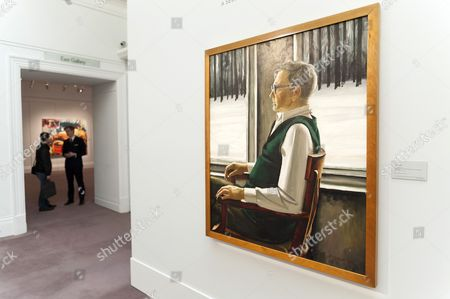 Editorial image of 'At the Crossroads', exhibition press view, Sotheby's, London, Britain - 04 Mar 2013