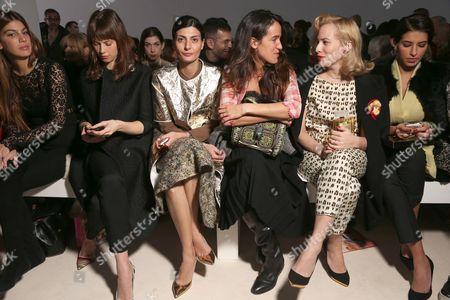 Guest, Guest, Coco Brandolini d'Adda, Charlotte Dellal and Princess Deena Al-Juhani