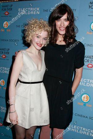 Julia Garner and Rebecca Thomas (Director)