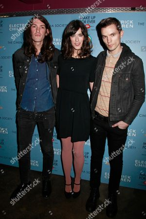 Thomas Owens, Rebecca Thomas and Liam Aiken