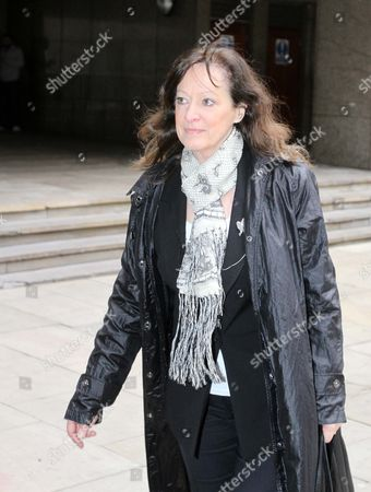 Baby Peter Social Workers Appeal Case Against Their Unfair Dismissal. Former Haringey Children's Services Director Sharon Shoesmith Outside The Tribunal Today.