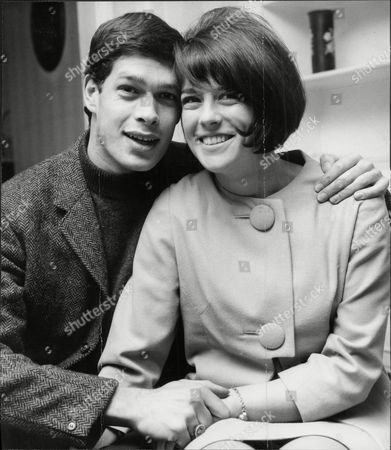 Keith Potger Of Pop Group 'the Seekers' With Fiancee Pamela Powley.
