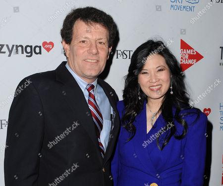 Nicolas Kristof and Sheryl WuDunn