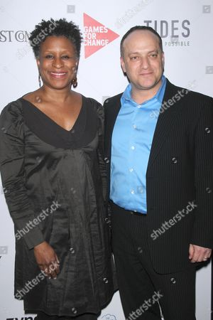 Stock Image of Michelle Byrd and Asi Burak