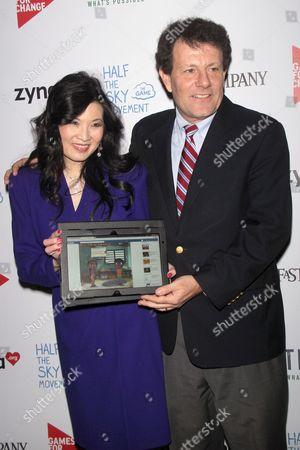 Sheryl WuDunn and Nicholas Kristof