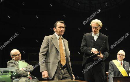 Vincent Franklin as Michael Cocks, Phil Daniels as Bob Melish, Andrew Havill as Speaker II, David Hounslow as Joe Harper