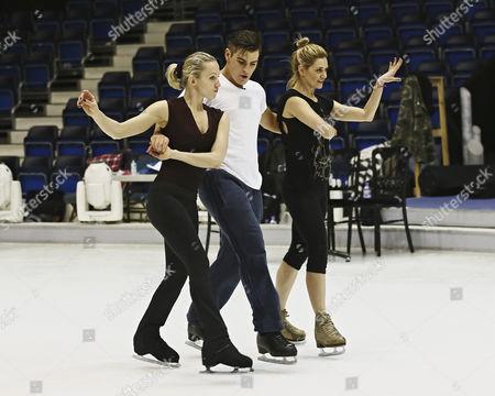 Matt Lapinskas, Olga Sharutenko, Maria Filippov