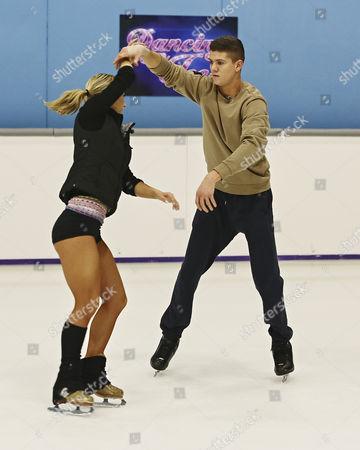 Luke Campbell and Jenna Harrison