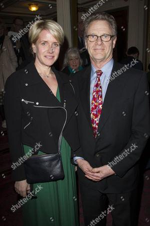 Fiona Golfar and Robert Fox (Producer)