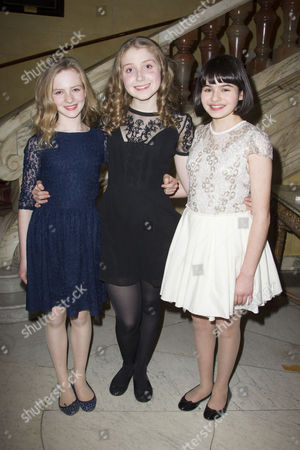 Nell Williams (Young Elizabeth), Bebe Cave (Young Elizabeth) and Maya Gerber (Young Elizabeth)
