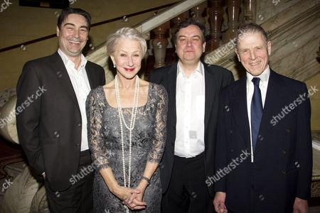 Nathaniel Parker (Gordon Brown), Helen Mirren (The Queen), Richard McCabe (Harold Wilson) and Edward Fox (Winston Churchill)