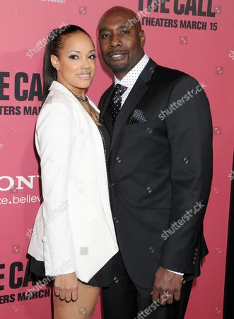 Morris Chestnut and wife Pam Byse
