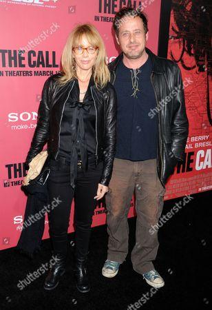 Rosanna Arquette and brother Richmond Arquette