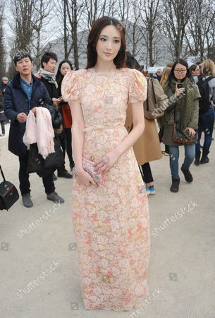 Editorial image of Valentino show, Autumn Winter 2013, Paris Fashion Week, France - 05 Mar 2013