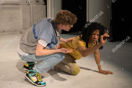 Editorial image of 'A Thousand Miles of History' play, Bussey Building, London, Britain - 05 Mar 2013