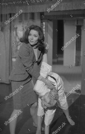 Diana Rigg and Katherine Schofield