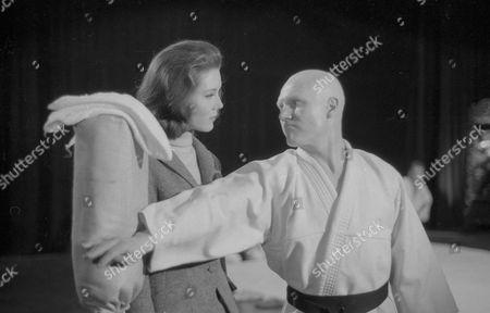 Diana Rigg and John Hollis