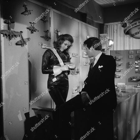 Stock Photo of Diana Rigg and Harvey Ashby