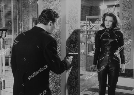 George Selway and Diana Rigg