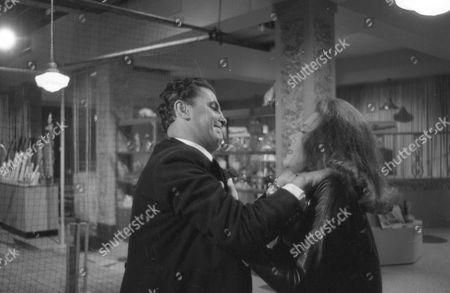 Stock Photo of George Selway and Diana Rigg