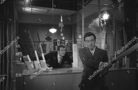 Stock Image of Harvey Ashby and Patrick Macnee