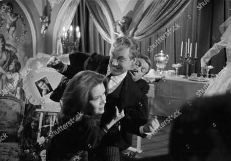 Diana Rigg, Terry Richards and Peter Bayliss