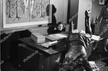 Stock Photo of Naomi Chance and Diana Rigg