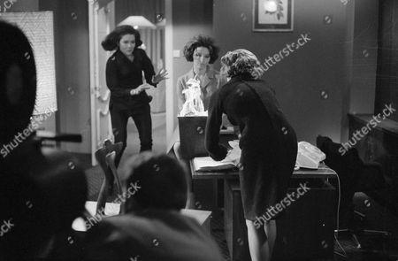 Diana Rigg, Suzanne Lloyd and Naomi Chance