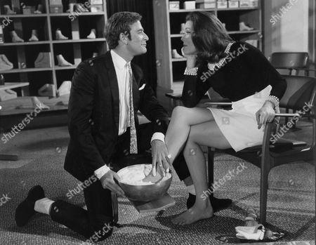 David Kernan and Diana Rigg