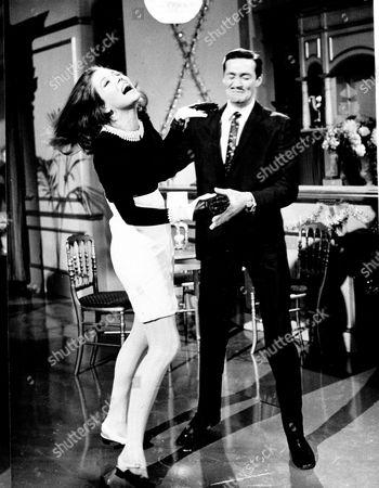 Diana Rigg and Maurice Kaufmann