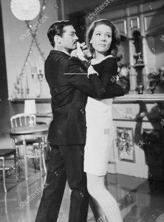 Maurice Kaufmann and Diana Rigg
